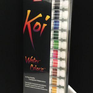 Koi 12ml Transparent Watercolor Set of 18