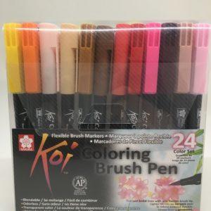 Koi Coloring Brushpen 24