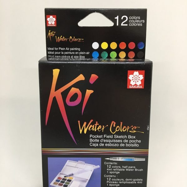 Koi Watercolor Pocketfield 12