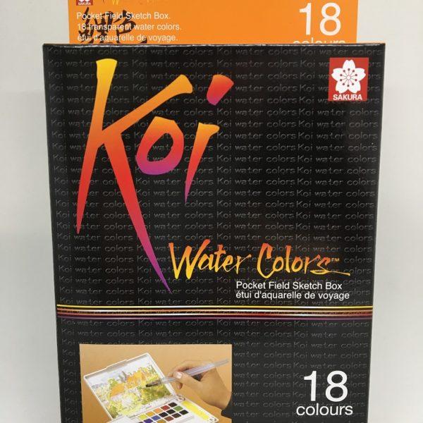 Koi Watercolor Pocketfield 18