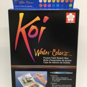 Koi Watercolor Pocketfield 24