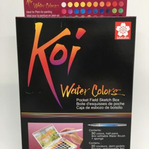 Koi Watercolor Pocketfield 30