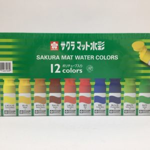 Mat Watercolor 12ml 12