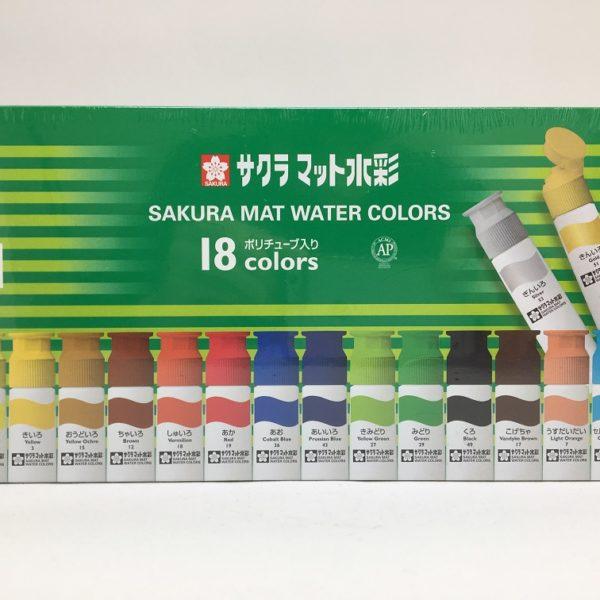 Mat Watercolor 12ml 18