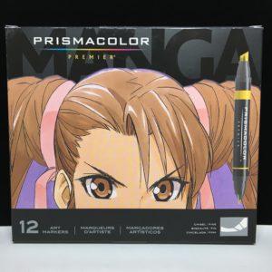 Prismacolor Manga Set 12